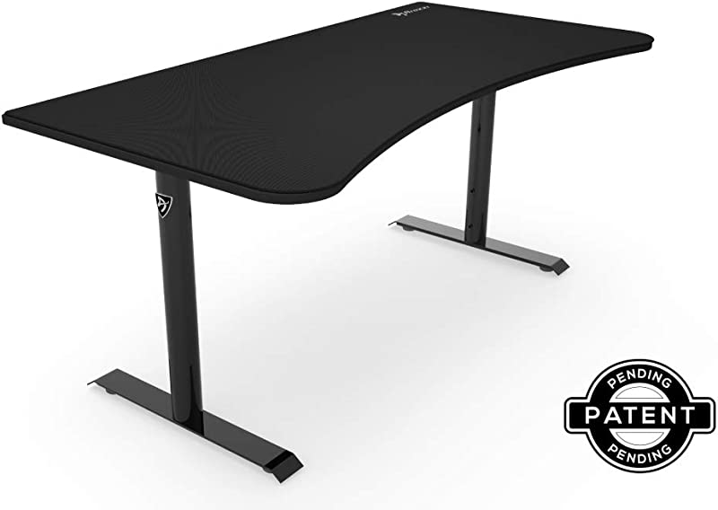 Arozzi NA Pure Black Arena Gaming Desk