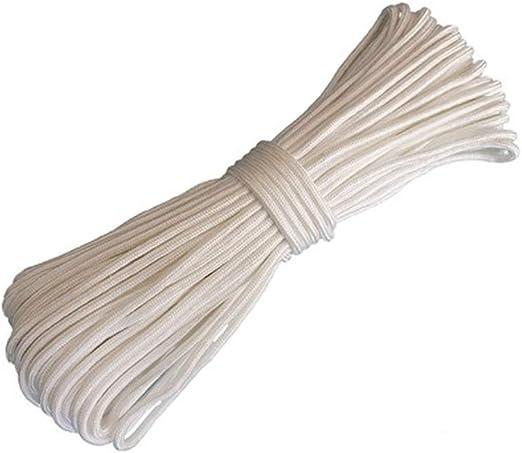 Cuerda blanca de nylon, cuerda de escalada, cuerda de unión ...
