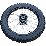 X-PRO 14'' Front Wheel Rim Tire Assembly for Dirt Pit Bike