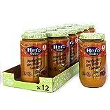 Hero Baby - Tarrito de Verduritas con Pollo y Ternera, Ingredientes Naturales, para Bebés a Partir de los 6 Meses - Pack de 12 x 235 g