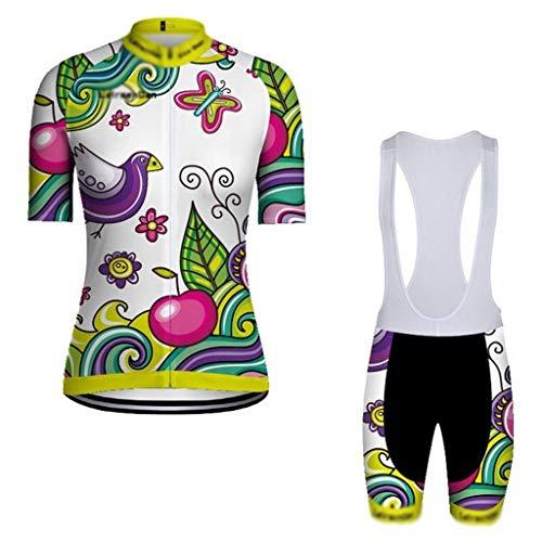 TMY Pantalones Cortos Ropa de la Bicicleta de Las Mujeres del Verano...