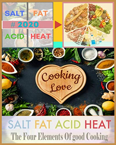 Paperback - Salt, Fat, Acid, Heat: The four elements of good cooking