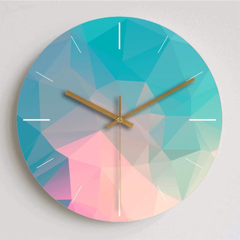J.BZ Reloj de Parojo Reloj de Cuarzo Plástico Vidrio Vintage Reloj de Parojo Reloj de decoración Reloj de Parojo de Madera