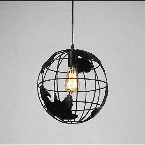 Lámpara colgante rústica/Lodge Vintage Retro Pintura Característica para Mini Estilo Metal Comedor Cocina Entrada Pasillo Garaje Negro Lámparas Colgantes