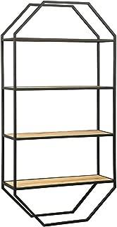 Ashley Furniture Signature Design - Elea Wall Shelf - Minimalist - Black/Natural