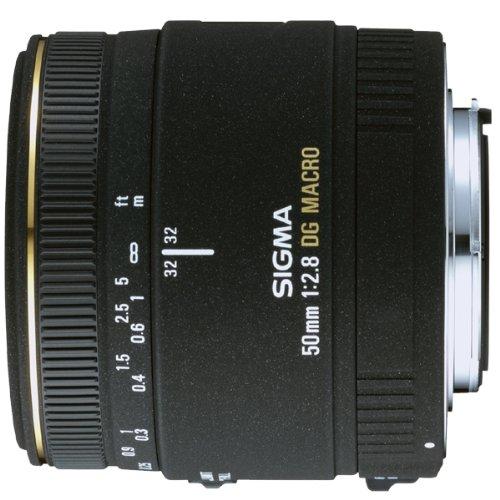 Sigma Obiettivo 50mm-F/2.8-AF EX DG, Attacco Canon, Nero