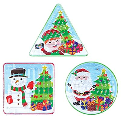 Henbrandt Christmas Maze Puzzles 6pk