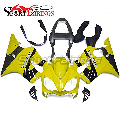 Sportbikefairings Yellow Black Complete Fairings For Honda CBR 600 F4i CBR600F4i 2001 2002 2003 Motorcycle Injection ABS Plastic Cowlings Hulls