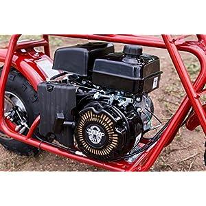 Coleman Powersports Mini Trail Bike, Gas Powered, 98cc/3.0HP, Red (CT100U)