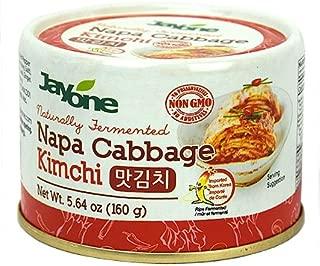 Korean Canned Kimchi, Napa Cabbage Kimchi, Naturally Fermented, Non-GMO, No preservatives, No additives- (5.64oz)