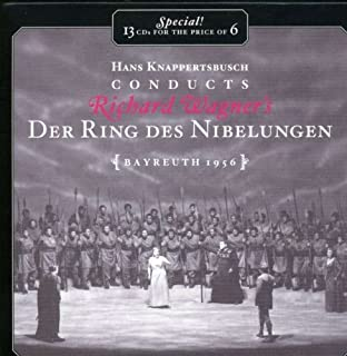 Hans Knappertsbusch Conducts Richard Wagner's Der Ring Des Nibelungen Bayreuth 1956