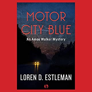 Motor City Blue audiobook cover art