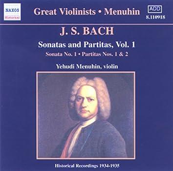Bach, J.S.: Sonatas and Partitas (Menuhin) (1934-1935)