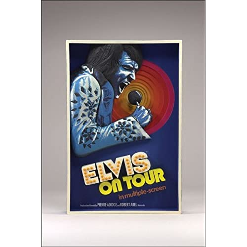 Elvis On Tour 3D Wall Art Poster McFarlane