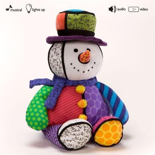 Britto Plush Lighten Up Musical Snowman by Britto Plush