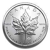 Moneda de Plata de Arce Leaf, 1 Onza – Set a Elegir, Juego de 1, 10 o 25 Unidades, 4260578492348