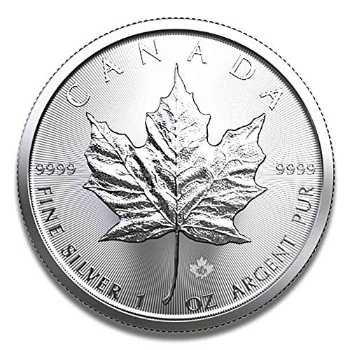 Zilveren munt Maple Leaf 1 ounce - Set naar keuze 1er 10er of 25er Set 10er Set (2019)