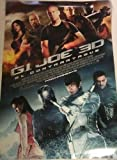 G.I. Joe Retaliation 2 Movie Poster 2 Sided Original...