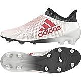 Adidas X 17+ FG, Botas de fútbol para Hombre, Blanco (White/Real Coral/Core Black White/Coral/Blk), 48 2/3 EU