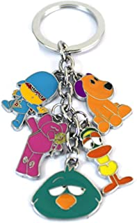 POCOYO Key Ring Lobster Buckle Metal Doll 5 Pendant Keychain Trinkets