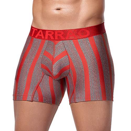 Tarrao Boxer Short Cona Microfibre Rot Unterwäsche für Herren, Gr.M