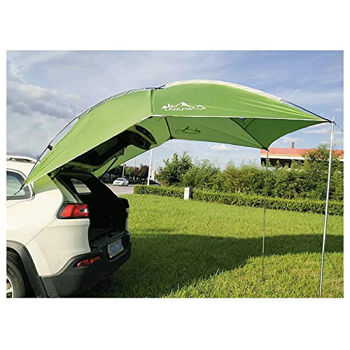 DYRABREST Car Tailgate Tent Canopy,110x74 Tailgate Shade Awning Tent,Leak Proof SUV Awning,SUA Tents for Camping,Beach, Picnic, Swimming Pool