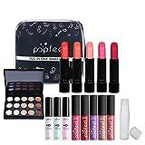 HoJoor Kit de maquillaje multiusos Paleta de Maquillaje Set Paleta de Sombras de Ojos Juego de Maquillaje Kit de Maquillaje para Mujeres y Niñas Caja de Regalo Cosméticos #077