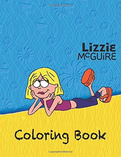 Lizzie Mcguire Coloring Book Coloring Book For Kids And Adults High Quality Coloring Book Buy Online In Gibraltar At Gibraltar Desertcart Com Productid 173559073