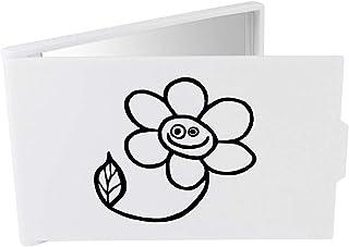 'Flower' Compact / Travel / Pocket Makeup Mirror (CM00024382)