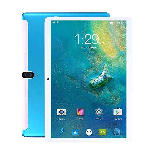 10 inch tablet, 3G phone call and WiFi tablet, 8 GB RAM + 128 GB ROM with quad-core processor - dual SIM, 8800 mAh, Bluetooth, GPS, 8 + 13 MP camera