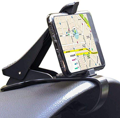 EXSHOW - Soporte para teléfono móvil de coche, antideslizante, duradero, compatible con iPhone Xs Max/XR/XS/X/8 Plus/8/7 Plus/7 Samsung Galaxy S10/S9/S8 y smartphones