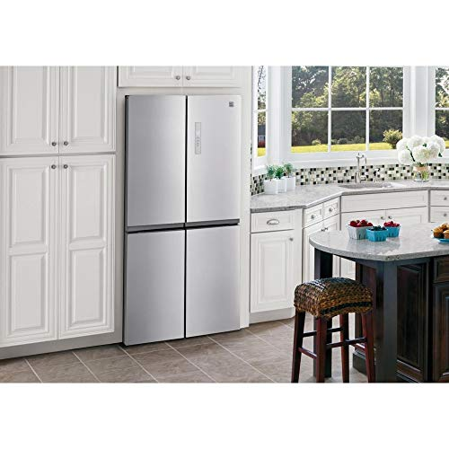 Kenmore 70013 17.4 cu. ft. 4-Door French Door Refrigerator - Stainless Steel