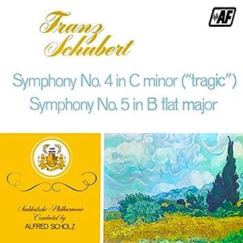 Symphony No. 4 in C Minor, Symphony No. 5 in B Flat Major