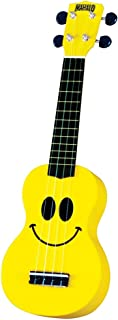 smiley face ukulele