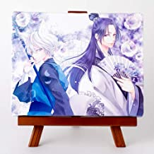 藤間麗先生「王の獣」イーゼルスタンド付きキャンバスアート(中)
