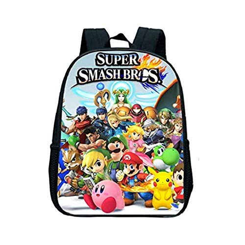 Tutui Bag Mario Hot Game Super Mario Smash Bros Bambini Zaino Borsa Scuola Asilo Ragazze Ragazzi Regali Carino Cartoon Bambini Borse Scuola