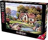 Anatolian - Puzzle (1500 piezas), diseño de flores