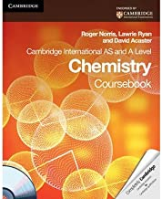 Cambridge International AS and A Level Chemistry Coursebook with CD-ROM (Cambridge International Examinations) (Mixed media product) - Common