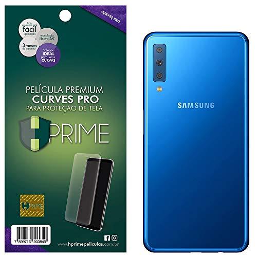 Pelicula Curves Pro para Samsung Galaxy A7 2018 - VERSO, HPrime, Película Protetora de Tela para Celular, Transparente