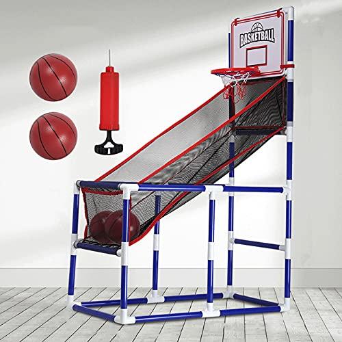 'N/A' Divertida Máquina De Tiro De Baloncesto para Niños, Aro De Baloncesto De Juguete para Niños, Sistema De Entrenamiento De Tiro De Baloncesto Al Aire Libre/Interior, Juego De Arcade De Baloncesto