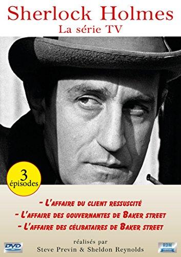 Sherlock Holmes : L'affaire du client ressucité + L'affaire des gouvernantes de Baker Street + L'affaire des célibataires de Baker Street [Francia] [DVD]