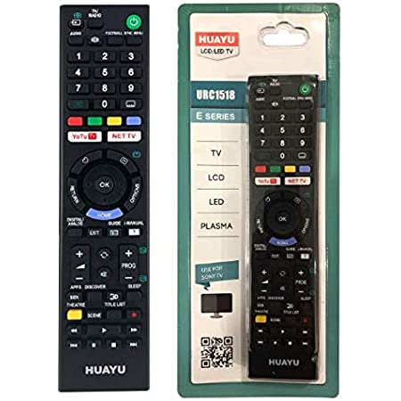Tv Fernbedienung Funktioniert Mit Allen Sony Tv Elektronik