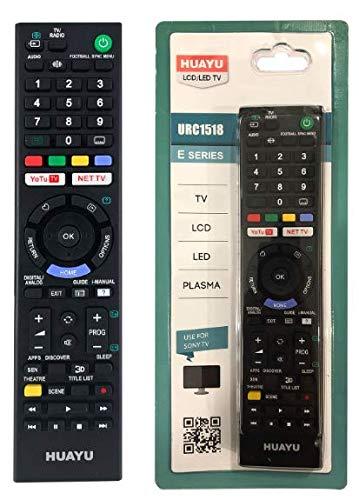 TV Fernbedienung - Funktioniert mit Allen Sony TV/Smart TV - die ideale TV-Ersatzfernbedienung