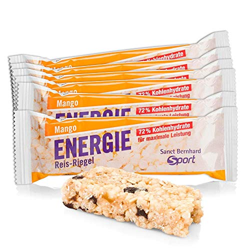 Sanct Bernhard Sport Energie Reis-Riegel Mango 11er-Packung