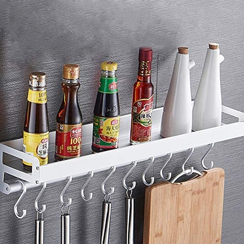 CHEYANGY 80cm Max 51% OFF 10 Hooks Kitchen Complete Free Shipping Wall Hanging Multi-function Holde
