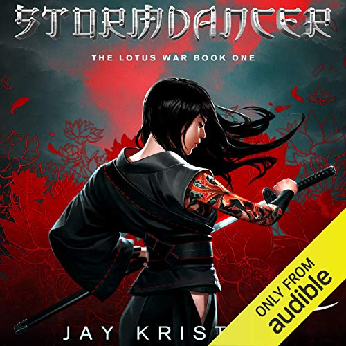 Stormdancer audiobook cover art