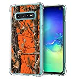 for Samsung Galaxy S10 Plus Camo Case, BAYKE Slim Flexible TPU Bumper Cushion Protective Cover with Reinforced Corners for Samsung Galaxy S10+ Plus (2019)