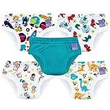 Bambino Mio, culottes d'apprentissage de la propreté, mix garçon, 3+ ans, lot de 5
