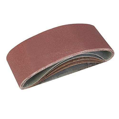 Silverline 760354 - Bandas de lija 75 x 457 mm
