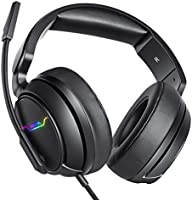 XIBERIA Xbox one Headset, PS4 Headset, Gaming Headphones, 3.5mm Surround Stereo Gaming Headsets met Mic Soft Memory...